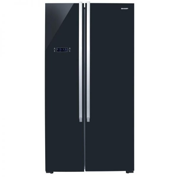 sharp side by side refrigerator sjx640