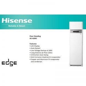 hisense 3.5 ton floor standing ac price in pakistan