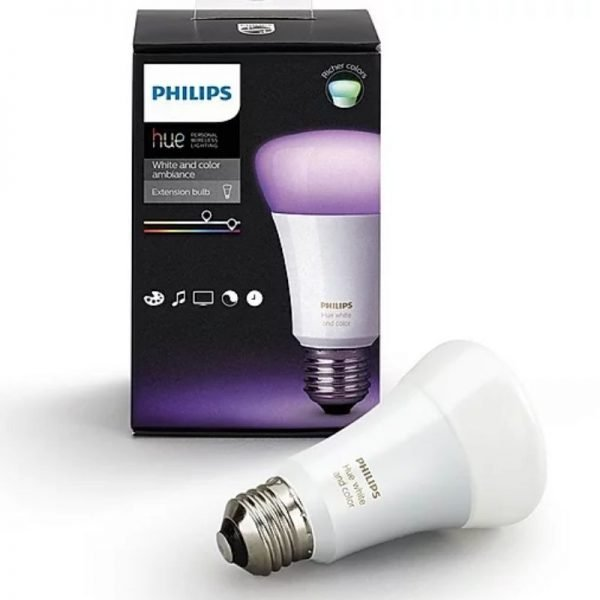 philips hue white and ambiance single pack e27 bulb