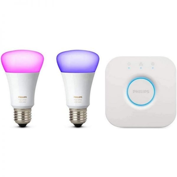 philips hue white and color ambiance mini starter kit