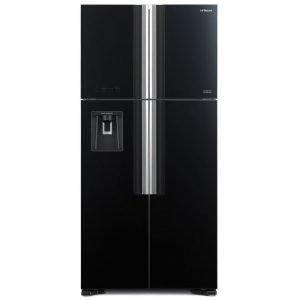 hitachi french door refrigerator black color