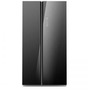 kenwood side by side refrigerator krfi533sbs