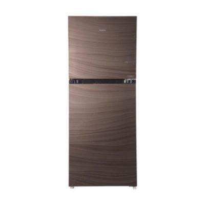 haier hrf  epc glass door refrigerator